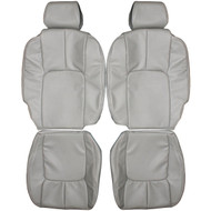 1998-2004 Cadillac Seville STS Custom Real Leather Seat Covers (Front)