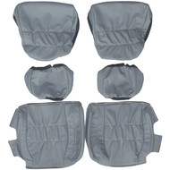 1998-2004 Porsche 911 996 Custom Real Leather Seat Covers (Rear)