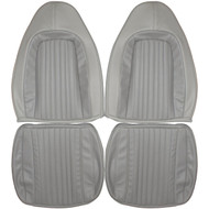 1970-1974 Plymouth Barracuda Custom Real Leather Seat Covers (Front)