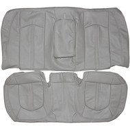 2008-2014 Cadillac CTS Custom Real Leather Seat Covers (Rear)