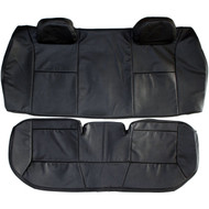 2006-2013 Chevrolet Impala Custom Real Leather Seat Covers (Rear)