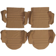 1976-1984 Porsche 911 Carrera Custom Real Leather Seat Covers (Rear)