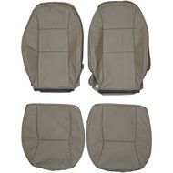 1998-2002 Saab 9-3 Custom Real Leather Seat Covers (Front)