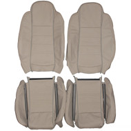 1995-1996 Jaguar XJS Custom Real Leather Seat Covers (Front)