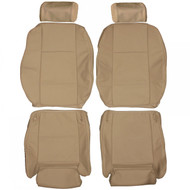 1999-2006 BMW E53 X5 Sport Custom Real Leather Seat Covers (Front)