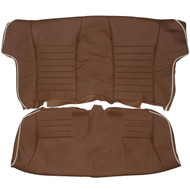 1983-1988 Jaguar XJS Rear Custom Real Leather Seat Covers (Rear)