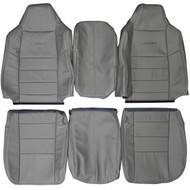 2002-2003 Ford F250 F350 Lariat Custom Real Leather Seat Covers (Front)