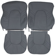 1993-1997 Saab 9000 Aero Custom Real Leather Seat Covers (Front)