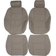 1992-1998 BMW E36 Convertible Standard Custom Real Leather Seat Covers (Front)