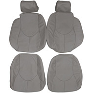 1996-2002 Mercedes Benz R129 SL300 SL500 SL600 Custom Real Leather Seat Covers (Front)