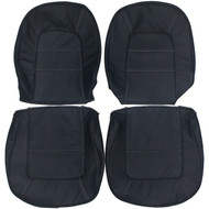 1965 Chevrolet Corvette Custom Real Leather Seat Covers (Front)