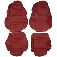 1992-1998 BMW E36 Vader Sport Custom Real Leather Seat Covers (Front)