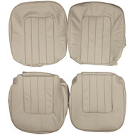 1982-1987 Jaguar XJ Vanden Plas Custom Real Leather Seat Covers (Front)