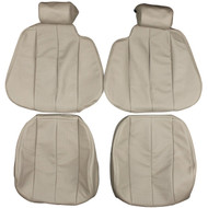1990-1995 Mercedes Benz R129 SL300 SL500 SL600 Custom Real Leather Seat Covers (Front)