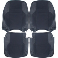 1995-1997 Volvo 850R Custom Real Leather Seat Covers (Front)