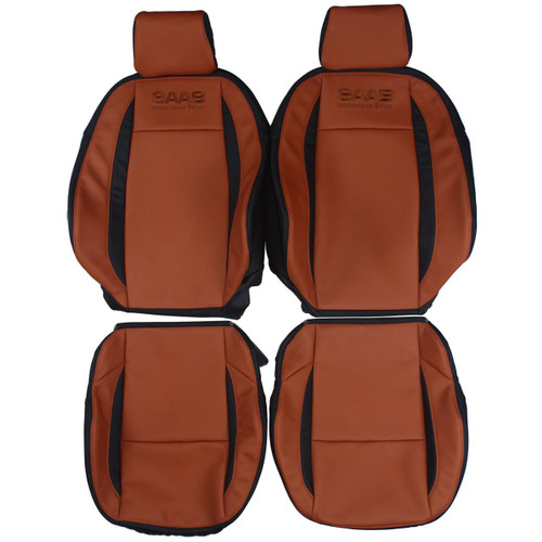2007 2008 Saab 9 3 Custom Real Leather Seat Covers Front
