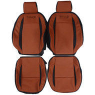 2007-2008 Saab 9-3 Custom Real Leather Seat Covers (Front)