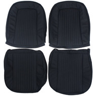 1963-1964 Chevrolet Corvette Custom Real Leather Seat Covers (Front)