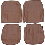 1986-1993 Volvo 240 Custom Real Leather Seat Covers (Front)