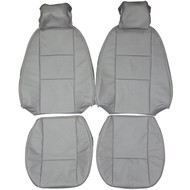 1994-1998 Saab 900 NG Custom Real Leather Seat Covers (Front)