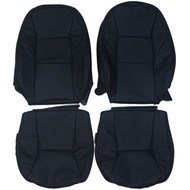 2002-2003 Saab 9-3 SE Convertible Custom Real Leather Seat Covers (Front)