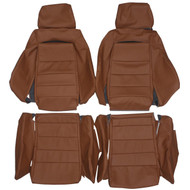Recaro LS-B Benz Porsche VW Ford Nissan Custom Real Leather Seat Covers (Front)