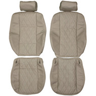 1999-2006 BMW E53 X5 Standard Custom Real Leather Seat Covers (Front)