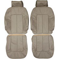 1997-1999 Acura CL Custom Real Leather Seat Covers (Front)