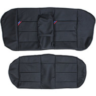 1992-1998 BMW E36 M3 Sedan Custom Real Leather Seat Covers (Rear)