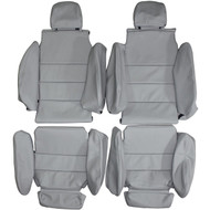 1983-1989 BMW M6 E24 6-Series M635csi Custom Real Leather Seat Covers (Front)
