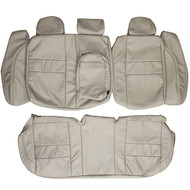 1991-1997 Volvo 850 Custom Real Leather Seat Covers (Rear)