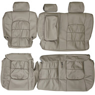 1998-2007 Lexus LX470 J100 Custom Real Leather Seat Covers (Rear)