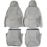 2000-2008 Volvo S60 Custom Real Leather Seat Covers (Front)