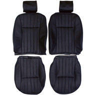 1986-1994 Jaguar XJ6 XJ40 Custom Real Leather Seat Covers (Front)