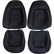 1973-1975 Pontiac Firebird Custom Real Leather Seat Covers (Front)