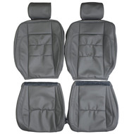 1998-2005 Lexus GS300 GS400 GS430 Custom Real Leather Seat Covers (Front)