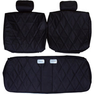 1977-1985 Chevrolet Impala Coupe Custom Real Leather Seat Covers (Front)
