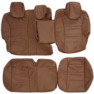 2002-2010 Porsche Cayenne S Custom Real Leather Seat Covers (Rear)