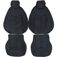 2003-2008 Mercedes-Benz R230 SL500 SL550 Custom Real Leather Seat Covers (Front)
