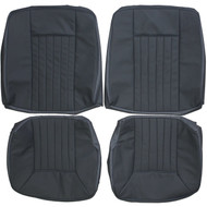1986-1989 Mercedes Benz W124 300CE Custom Real Leather Seat Covers (Rear)
