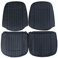 1970 Pontiac GTO Custom Real Leather Seat Covers (Front)