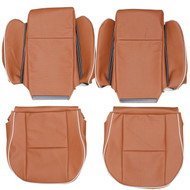 1999-2004 Land Rover Discovery II Custom Real Leather Seat Covers (3Rd row)