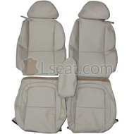 2002-2010 Lexus SC430 Custom Real Leather Seat Covers (Front)