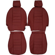 1980-1987 TVR Tasmin Custom Real Leather Seat Covers (Front)
