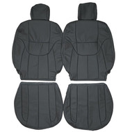 2000-2004 Toyota Avalon Custom Real Leather Seat Covers (Front)