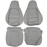 1978-1984 Porsche 928 Custom Real Leather Seat Covers (Front)