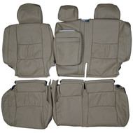 2002-2009 Lexus GX470 Custom Real Leather Seat Covers (Rear)
