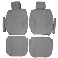 1988-1996 BMW E34 525i Sedan Custom Real Leather Seat Covers (Front)