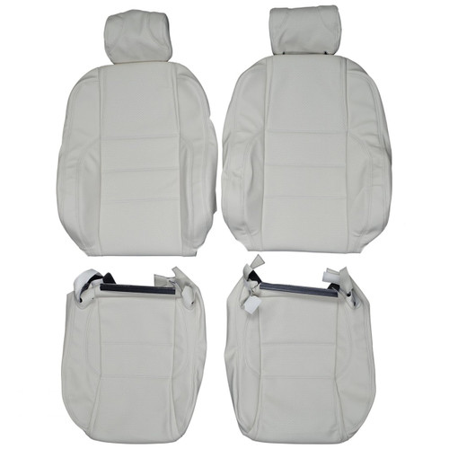 Leather seat covers custom leather interior replacement seat 1995 1999 jaguar xjr custom real leather seat covers front fandeluxe Image collections