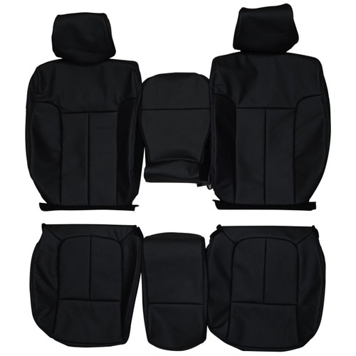 Leather seat covers custom leather interior replacement seat 2009 2014 ford f150 supercrew cab xlt custom real leather seat covers front fandeluxe Image collections